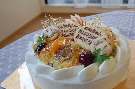 BDフルーツ生ケーキ081009