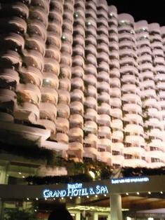 パタヤのホテル。