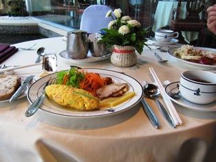 パタヤ朝食。