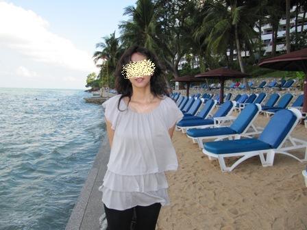 ホテルプライベトビーチ。