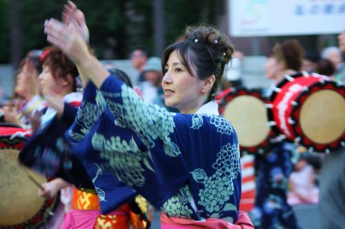 盛岡の夏祭り!さんさ踊り