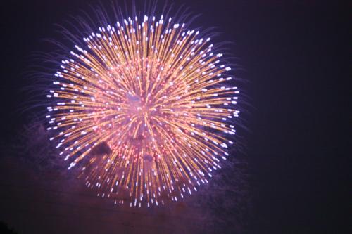 都南大橋の花火、盛岡花火の祭典
