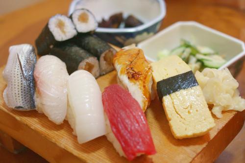 江戸寿司の寿司ランチ