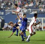 日本、北朝鮮に敗れる