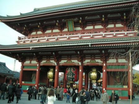 浅草寺に行ってきました