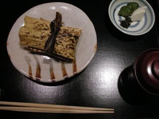 竹の子竹皮蒸し