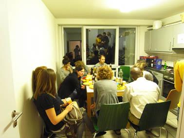 パーティーの風景