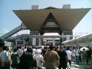 08年8月中旬 東京ビッグサイト