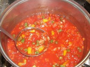 トマトスープ↓