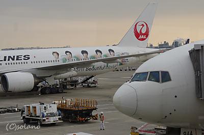 JAL嵐JETのB777-200