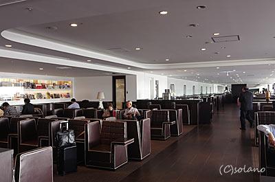 羽田空港、JAL、ダイヤモンドプレミアラウンジ