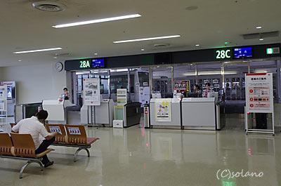 那覇空港JAL・JTA28番ゲート
