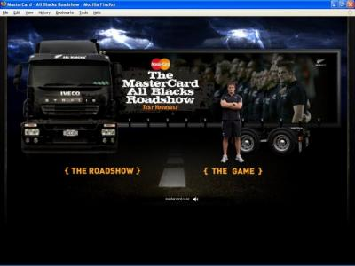 MasterCard All Blacks Roadshow
