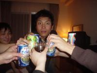 沖縄一日目酒盛り