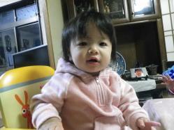 莉子1歳誕生1 12.23
