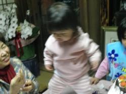 莉子1歳誕生6 12.23
