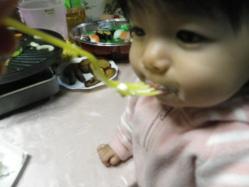 莉子1歳誕生7 12.23