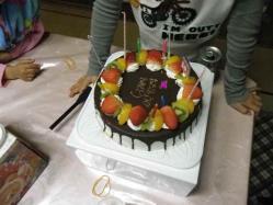 莉子1歳誕生4 12.23
