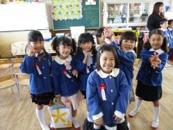 樹李幼稚園卒園式4