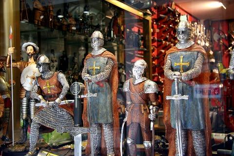 中世の騎士(トレド)