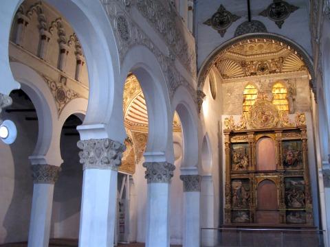 サンタ・マリア・ラ・ブランカ・ユダヤ教会(トレド)