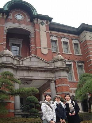 東京駅で再会!