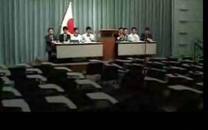 政府、東電による記者会見(外国向け)