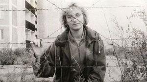 放射線危険区域内で作業していた当時35歳のナタリア・マンズロヴァさん