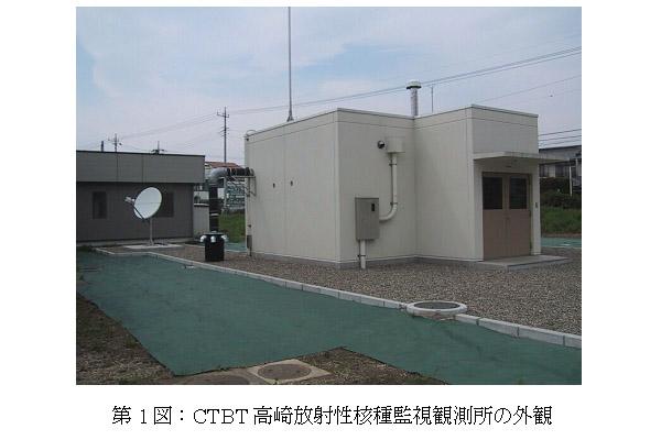 高崎放射性核種監視観測所