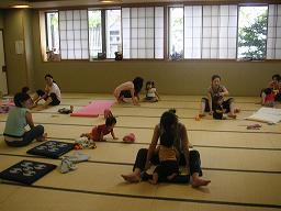 2009.8 ohana yoga 亀