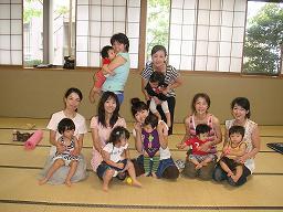 2009.8 ohana yoga 集合