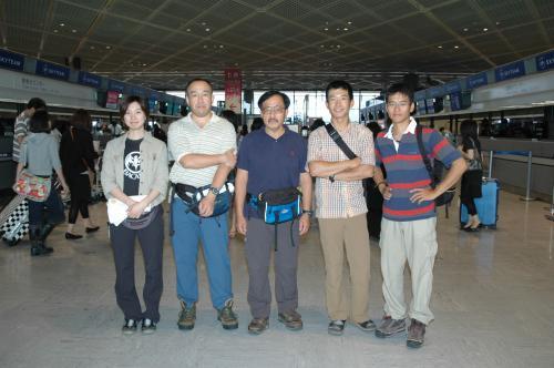 出発前の記念写真