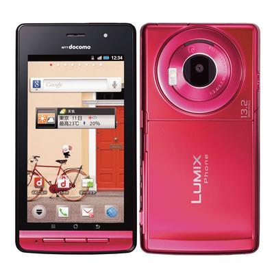 docomo with series LUMIX Phone P-02D