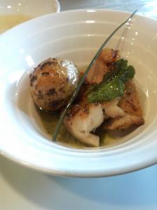 cucina ala vela(ランチ・前菜2:ポテト)