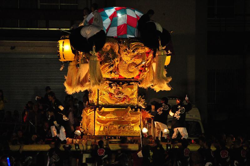 土居秋祭り JAうま土居 土居本郷太鼓台