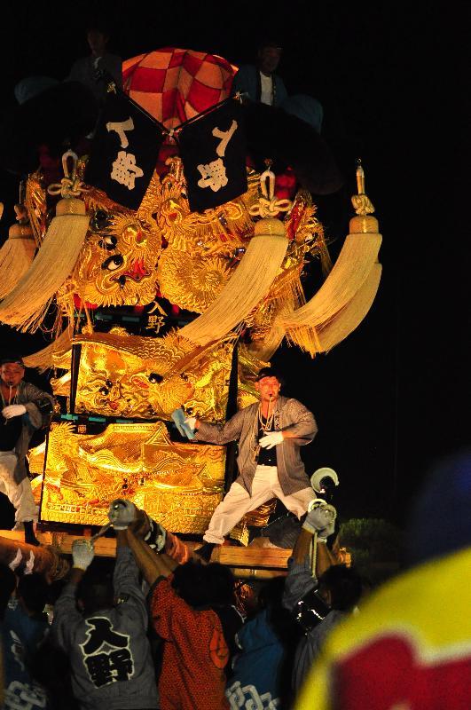 土居秋祭り JAうま土居 入野太鼓台
