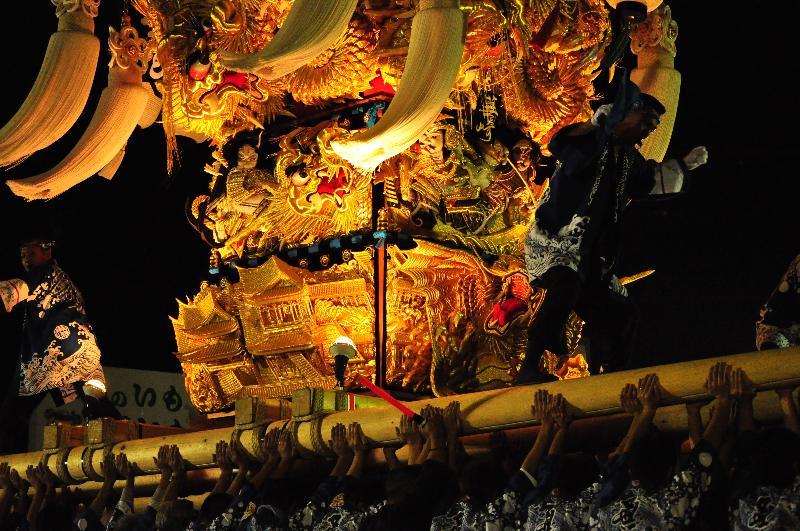 土居秋祭り JAうま土居 蕪崎太鼓台
