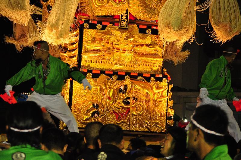 土居秋祭り JAうまかきくらべ 上天満太鼓台