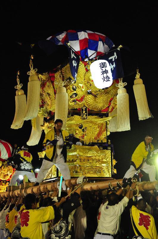 土居秋祭り JAうまかきくらべ 東天満太鼓台
