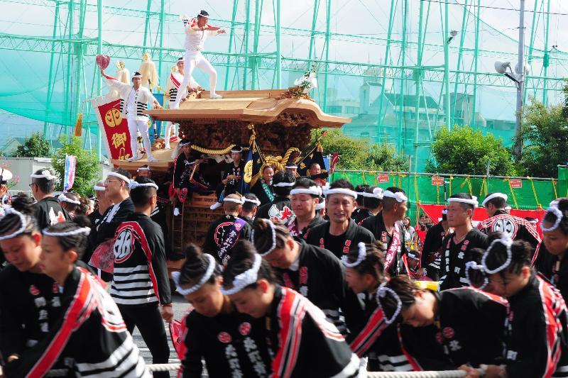 岸和田だんじり祭 岸和田地区 平成23年 北町だんじり