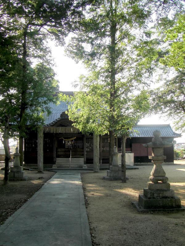 新居浜市田の上 田上神社