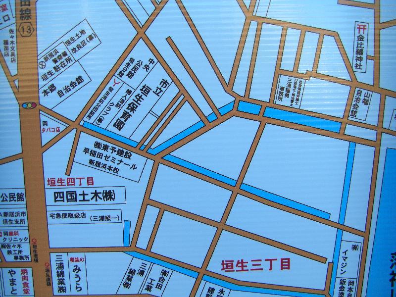 新居浜太鼓祭り 会場地図 山端広場