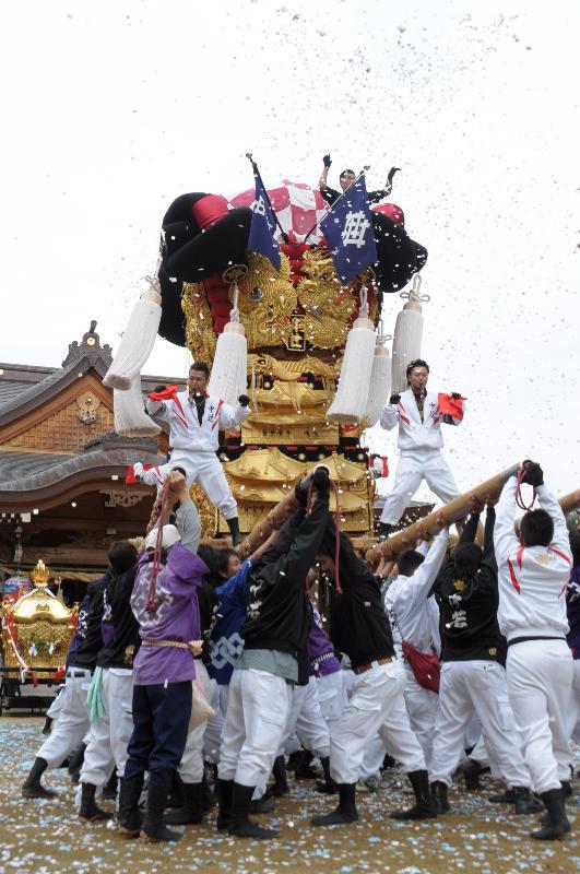 山本・辻秋祭り  菅生神社秋季大祭  中辻太鼓台