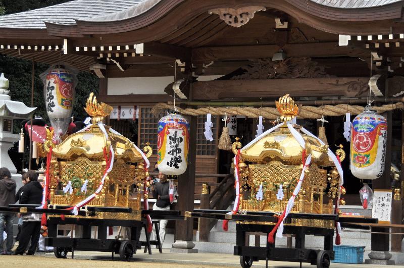 三豊市山本町山本・辻秋祭り  菅生神社