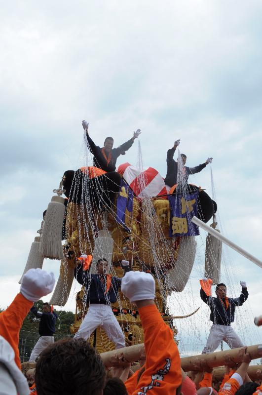 新居浜太鼓祭り 上部地区 土橋太鼓台