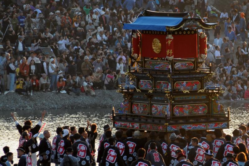 西条祭り 伊曽乃神社祭礼 川入 中野屋台