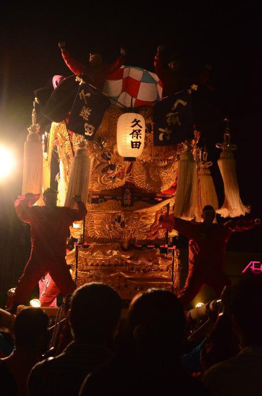 新居浜太鼓祭り 川西地区 イオンモール 久保田太鼓台