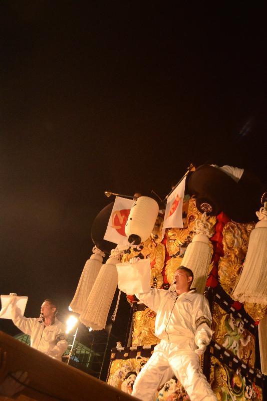 新居浜太鼓祭り 川西地区 イオンモール新居浜 口屋太鼓台