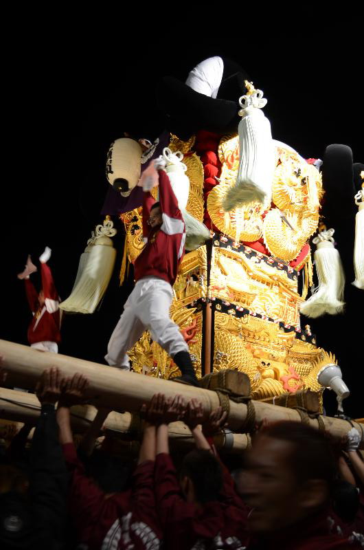 新居浜太鼓祭り 川西地区 イオンモール新居浜 中須賀太鼓台