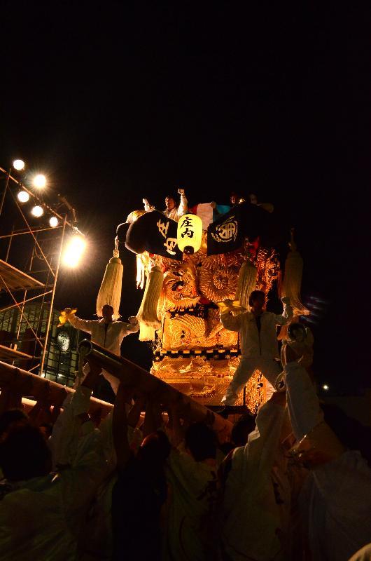 新居浜太鼓祭り 川西地区 イオンモール新居浜 庄内太鼓台